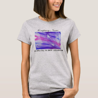 elegant modern purple abstract business T-Shirt