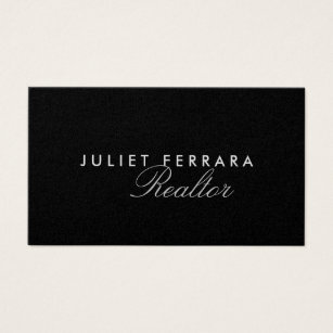 High end business cards templates zazzle elegant modern realtor high end business card colourmoves