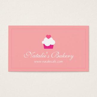 Elegant, Modern, Sweet Cupcake, Bakery Business Card