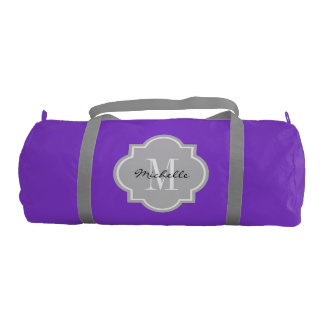 Elegant monogram duffle bag for women and girls