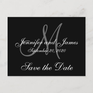elegant save the date cards zazzle