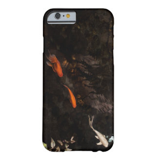 Elegant Moody Koi Gold Fish Pond Barely There iPhone 6 Case