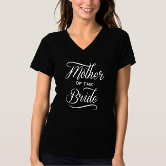 Elegant Mother of the Bride T-shirt (white)