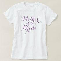 Elegant mother of the bride t shirts | Lavender
