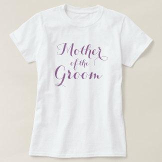 Elegant mother of the groom t shirts | Lavender