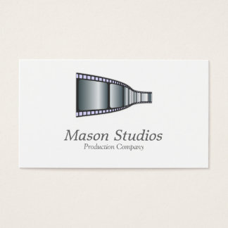 Elegant Movie / Film Strip Business Card