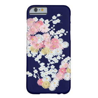 Elegant Mums and Plum Kimono Pattern iPhone 6 Case