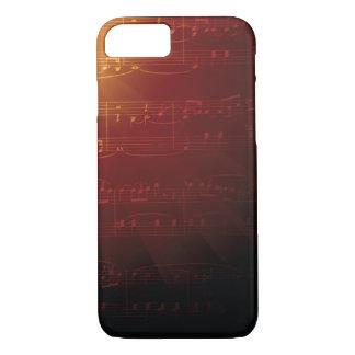 Elegant Music Notes Musical iPhone 7 Case