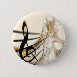 Elegant Musical Note Button