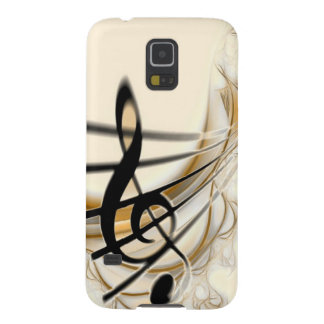 Elegant Musical Note Galaxy S5 Cover