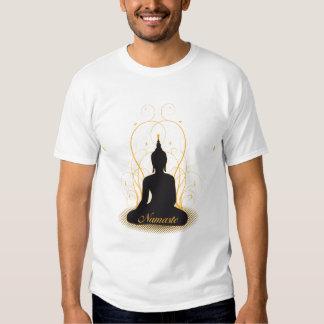 Elegant Namaste Buddha Tee Shirt