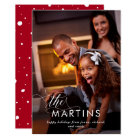 Elegant Name | Holiday Card with Photo