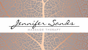 Massage therapy business cards zazzle elegant name with rose gold tree pattern business card colourmoves