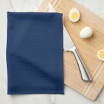 "Elegant Navy Blue Monogram Towel<br><div class=""desc"">Stylish and chic monogrammed design.</div>"