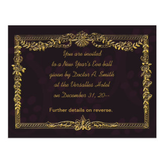 Elegant New Year's Eve Party Invitations