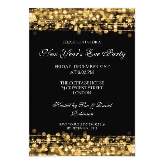 New Year Invitation Template New Year Party Invitation Wording In