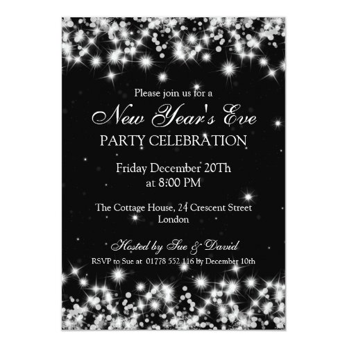 Top 50 New Years Eve Party Invitations & Announcements ...