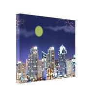 Elegant Night Watch 20X16X1.5 Canvas Wrap Wall Art