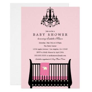 Elegant Nursery - Pink | Baby Shower Invite