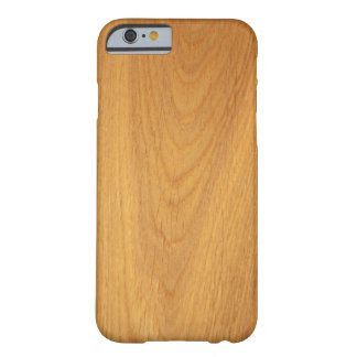 Elegant oak wood grain photo texture barely there iPhone 6 case
