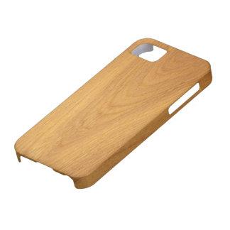 Elegant oak wood grain photo texture iPhone SE/5/5s case