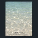 "Elegant Ocean Beach Background Letterhead<br><div class=""desc"">Elegant Ocean Beach Background Letterhead.</div>"