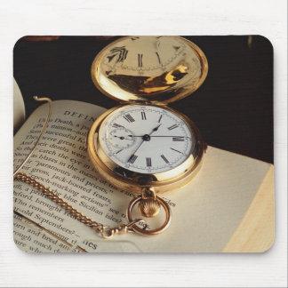 Elegant Old Clock Mousepad