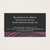Elegant Old Fashioned Antique Purple Marbled Business Card