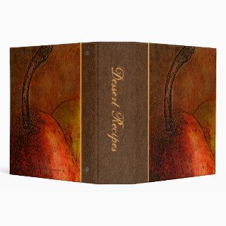"Elegant Old World Pears (2"") Binder"