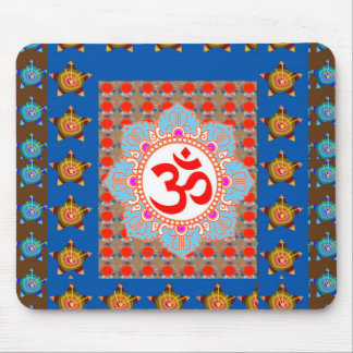 Elegant OmMANTRA Mantra: Yoga Meditation Healing A Mouse Pads