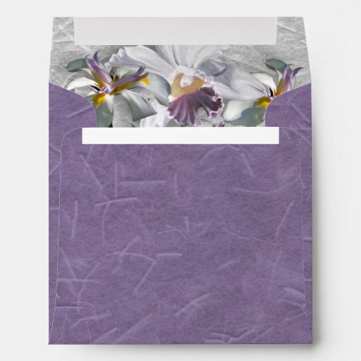 Elegant Orchid Envelope