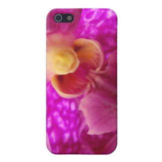 Elegant orchid graphic photo cover for iPhone SE/5/5s