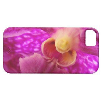 Elegant orchid iris flower nature photo girly pink iPhone SE/5/5s case