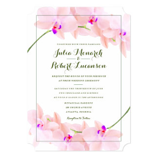 orchid wedding invitations Wedding Decor Ideas