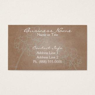 Elegant Orchids Business Cards