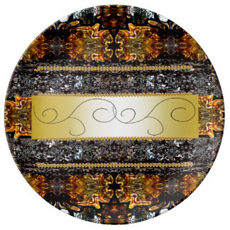 Elegant Ornate Fancy Dinnerware Regal CricketDiane Plate