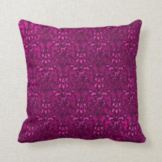 Elegant Ornate Fushia American MoJo Pillow