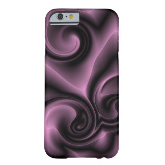 Elegant Ornate Psychedelic Purple Swirls Pattern Barely There iPhone 6 Case