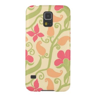 Elegant Paisley And Floral Pattern