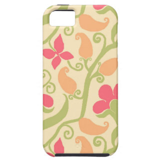 Elegant Paisley And Floral Pattern iPhone 5 Case
