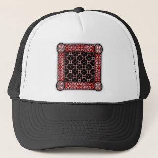 Elegant Paper Flower Cut Outs Small Trucker Hat