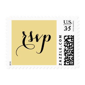Elegant Party Event RSVP Postcard US Postage Stamp