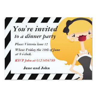 "Elegant party Invitation 5"" X 7"" Invitation Card"