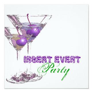 Elegant party stylish occasion CUSTOMIZE Card