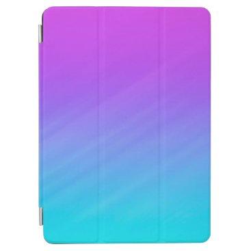 Elegant Pastel Blue & Purple Shades iPad Air Case