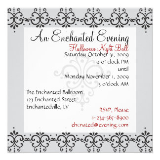 Elegant Patteern 4 Personalized Announcement