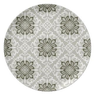 Elegant Pattern2 Party Plates
