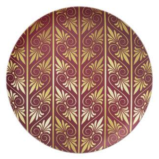 Elegant Pattern Party Plates