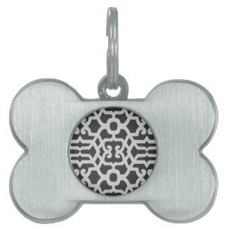 Elegant Pattern Pet ID Tag