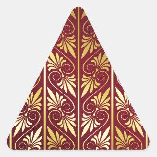 Elegant Pattern Triangle Sticker